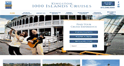 Preview of 1000islandscruises.ca